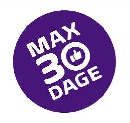 """Støt kampen for """"Max 30 dage"""" - klik på billedet og skriv under på opfordringen til at ændre loven."""