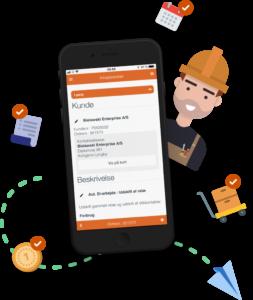 Minuba GO-appen kan downloades til alle smartphones